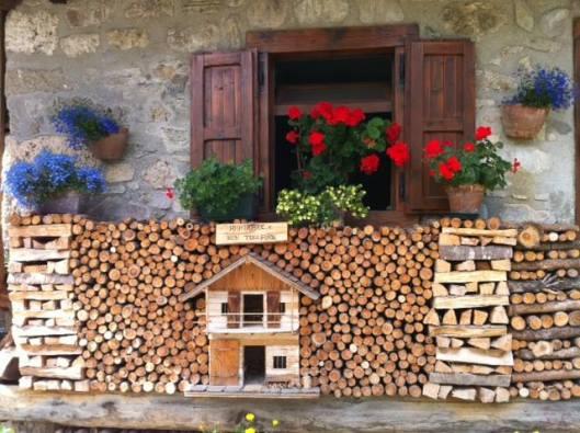 wood piling