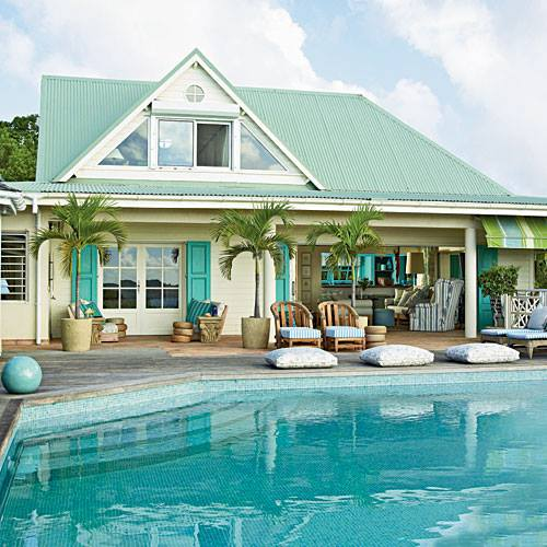 cottage turquoise